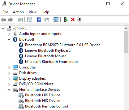 Lenovo IdeaCentre B320 Device Manager